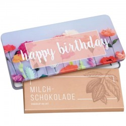 Chocolat happy birthday