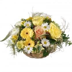 Corbeille de fleurs...