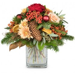 Bouquet féerique de Noël