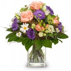 Joyeux bouquet de printemps