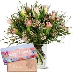 Bouquet de tulipes avec...