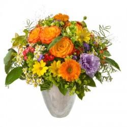 Bouquet de fleurs multicolore