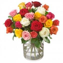 Bouquet de roses...